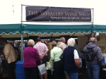 The Whalley Wine Shop at Clitheroe Food Festival 2011