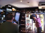 Filming Come Dine With Me at The Whalley Wine Shop