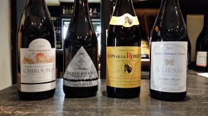 Wines of Beaujolais available By The Glass at The Whalley Wine Shop