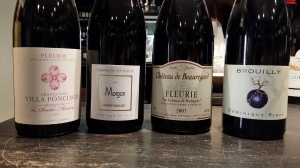 8 fine Beaujolais Cru wines available By The Glass