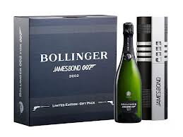 The name's Bond, the Champagne superb!