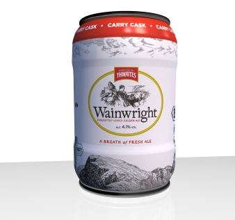 Wainwright in mini casks available at The Whalley Wine Shop