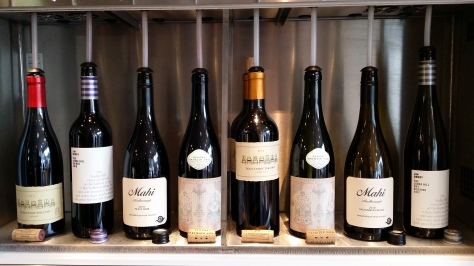 8 superb wines available 'By The Glass'