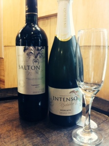 The Salton Inteso Tannat and Salton Intenso Moscato from Brazil!