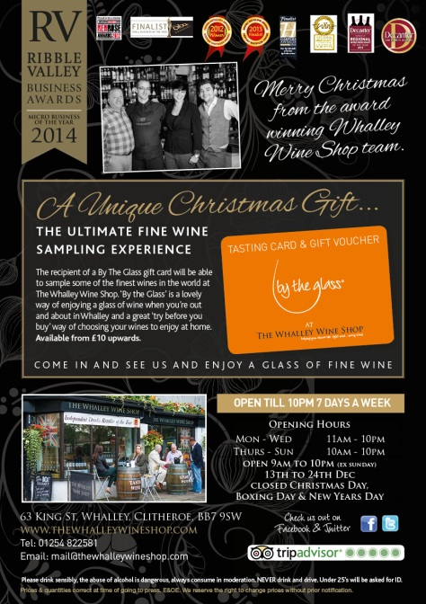 Whalley Wine Shop Christmas 2014 brochure-16