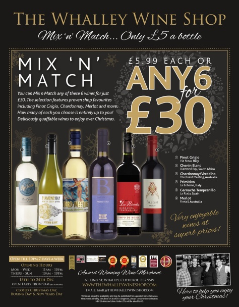 Whalley-Wine-Shop---Christmas-Ad,-Clith-Advertiser-Week-2