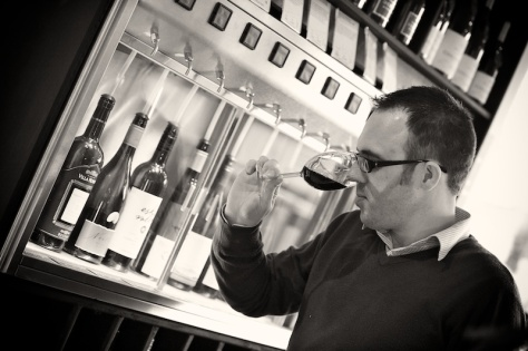 Customers can sample quality wine in the shop.