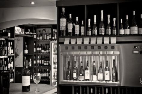 Our 'By The Glass' dispenser