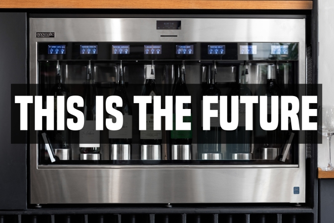 BRAND NEW WINE TASTING MACHINE | Why our new toy is a great thing for wine